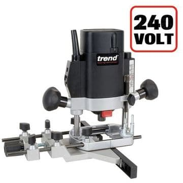 """Trend 1000W 1/4"""" Variable Speed Router 240V - UK sale only"""